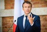 E. Macronas diplomatiškai spaudžia Iraką