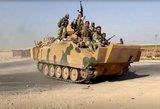 Atremti Turkijos puolimo juda Rusijos palaikoma Sirijos kariuomenė