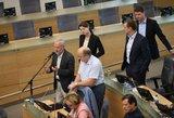 Seimo opozicija sutarė dėl lyderio