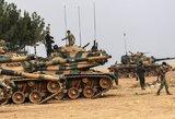JAV palaikomi kurdai atsitraukė į rytus nuo Eufrato