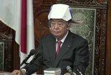 Apskriejo internetą: Japonijoje parlamento nariams įteikti šalmai