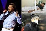 Nyksta akyse: pop dievukas Dima Bilanas tarsi kitas žmogus
