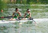 Abi porinės dvivietės tvirtai žengė į pusfinalį