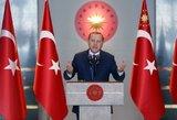 Keršydama už sankcijas Amerikai Turkija imasi prekių boikoto