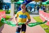 Triatlono taurėje Veisiejuose – sezono nugalėtojų vardus garantavusios pergalės