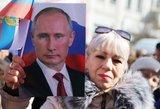 Vladimiras Putinas ir jo už degtinės butelį mokyklos laikų draugą galintis užmušti elektoratas