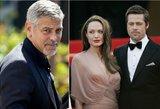 """Neteko amo: """"Brangelinos"""" draugas George'as Clooney sužino apie jų skyrybas"""