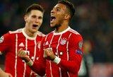 """Čempionų lyga: """"Atletico"""" už borto, """"Bayern"""" susitvarkė su PSG"""