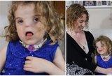 Be nosies gimusi mažylė šiandien: nori, kad žmonės kai ką žinotų
