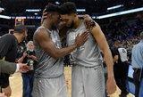 NBA sezono finiše – trims lietuviams skaudus dūris