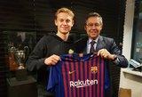 """""""Barcelona"""" saugiklis dėl jaunojo talento – įspūdingo dydžio išpirka"""