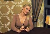 N. Bunkė: būti turtingo vyro žmona yra labai sunkus darbas