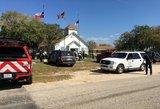 Dar vienas kruvinas išpuolis JAV – žudikas mirtį sėjo bažnyčioje