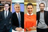 """""""Eurovizija"""" garsenybių akimis: konfliktas dėl Aistės Pilvelytės ir kritika dainoms"""