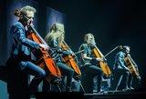 """Suomių metalo titanai """"Apocalyptica"""" savo pasirodymu sudrebino Vilnių"""