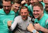 "Nico Rosbergas laimėjo lenktynes Japonijoje, ""Mercedes"" – konstruktorių taurę"