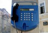 Ar dar kas nors skambina Lietuvoje iš taksofonų?
