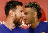 """Buvęs """"Barca"""" narys: Neymaras iš Barselonos išvyko dėl Leo Messi"""