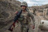 Susirėmimai Kalnų Karabache: žuvusių karių skaičius didėja