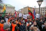 """Reakcija į """"Paskutinio skambučio"""" protestą: patenkinti ne visi"""