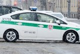 Nelaimė Ukmergės rajone: nuo kelio nuvažiavo vaikų pilnas autobusas