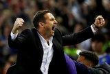 "Lampardo vadovaujama ""Chelsea"" pakartojo 30 metų senumo rekordą"