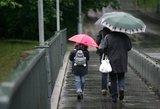 Savaitės pradžios orai: šiltas striukes norėsite palikti namie