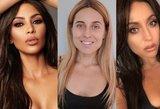 Lietuvė įsikūnijo į Kim Kardashian: panašumas – akivaizdus