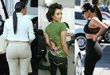 Evoliucija: kaip per metus užaugo Kim Kardashian užpakaliukas