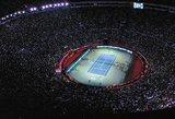 Visų laikų rekordas: teniso mačą stebėjo įspūdinga minia sirgalių