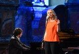Rūta Ščiogolevaitė Šv. Kotrynos bažnyčioje surengė koncertą – atskleidė naujus talentus