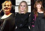 Stulbinantys Adele pokyčiai: sunku patikėti, kad tai – tas pats žmogus