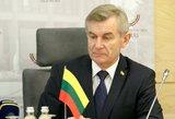 Seimo pirmininks pliekiamas dėl susitikimo su Rusijos ambasadoriumi