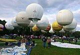 Šveicarijoje prasideda legendinės dujinių balionų lenktynės
