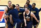 """""""Cavaliers"""" laimėjo per plauką, """"Spurs"""" – užtikrintai, """"Jazz"""" – po pergalingo dvitaškio"""