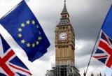 Britanijos vidaus reikalų sekretorė atsistatydino