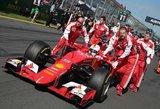 """Ferrari"": Sebastianas Vettelis nebūtų aplenkęs ""Mercedes"" trasoje"