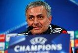 Aštrus Jose Mourinho liežuvis: yra kliuvę Lioneliui Messi, auklėtiniams ir kolegomis