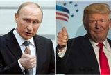 Rusijos ir JAV draugystė 2018-aisiais: Putinas ar Trumpas pils žibalo į ugnį?