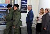 Rusijos ekonomikos krachas – jau ir Maskvoje vėluoja algos