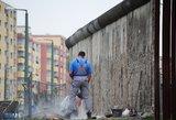 Vokietijos sostinėje paminėtos Berlyno sienos statybų pradžios 55-osios metinės