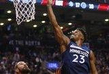 NBA fronte – nieko naujo: Jonas Valančiūnas surinko dvigubą dublį