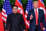 Šiaurės Korėja po nutraukto susitikimo siūlo tolesnes derybas