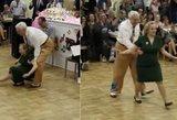 Pamatyk: užkrečiantis senjorų šokis tapo interneto sensacija