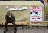 Revanšas neįvyko: kas laimi Ukrainos rinkimuose