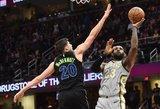 NBA lygoje – trigubi ryškiausių žvaigždžių dubliai