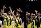 """""""Fenerbahče"""" krepšininkai pirmą kartą pateko į Eurolygos finalą"""