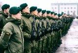 Planuojama keisti į privalomąją karo tarnybą šaukiamų asmenų amžių