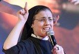 Muzikinį Italijos realybės šou laimėjo vienuolė