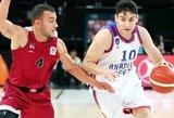 Turkijos čempionate – blogiausia krepšinio komanda Europoje?